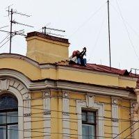 Сэлфи на крыше :: Sergey Kiselev