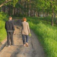 Вечерняя прогулка :: Елена Баландина