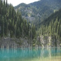 Озеро Каинды :: Екатерина Шамелова