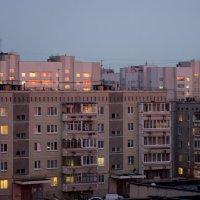 отражение закатного солнца :: Ольга Грязных
