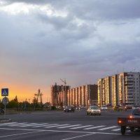 Город на закате :: юрий Амосов