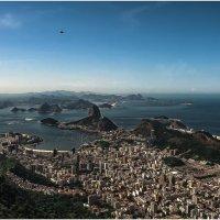 """Сахарная голова"", Пан-ди-Асу́карa— гора в Рио-де-Жанейро,Бразилия! :: Александр Вивчарик"