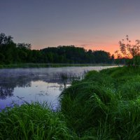 Вечерняя река :: Андрей Куприянов