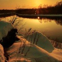 Весенний закат :: Наталья Гришутина