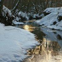 Зимний закат :: Денис Масленников
