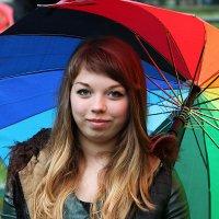 """""""Я под зонтиком, а ты мокнешь...."""" :: Дмитрий Иншин"""