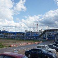 Нефтеналивной терминал в порту «Усть-Луга» в Ленинградской области :: Елена Павлова (Смолова)
