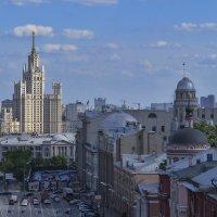 Москва с высоты... :: Игорь Егоров