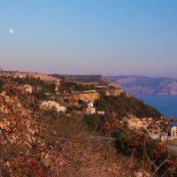 Марсианский пейзаж в Крыму :: Ольга Бурда