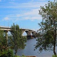 Мост на Волге Саратов-Энгельс :: Лариса Коломиец