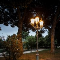фонарик парка Лабиринт... :: Сергей