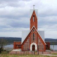 приход святого Михаила Архангела римско-католической церкви в Мурманске :: Светлана Кажинская