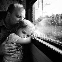 В поезде :: Ольга Лебедева