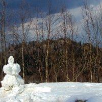 Последний апрельский снег... :: Юлия Бабитко