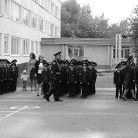 Построение кадетов. :: Наталья