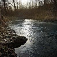 Бежит вода, торопится :: Денис Масленников