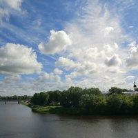 Облака над Великими Луками... :: Владимир Павлов