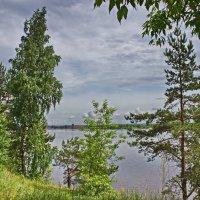 Река под хмурым небом :: val-isaew2010 Валерий Исаев