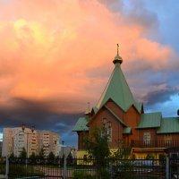 Оранжевое небо :: Ольга