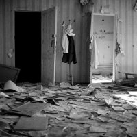 Джеймс Хилл_Голубь прикреплен к вешалке на руинах школыNo1... :: Центр фотографии им.братьев Люмьер