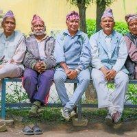 Дневные посиделки, Непальцы :: Atuan M