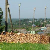 Общежитие, обеспеченное дровами :: Валерий Чепкасов