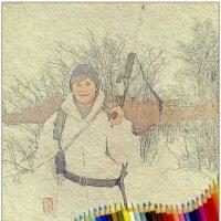 Боец - кольоровий олівець... :: Кай-8 (Ярослав) Забелин