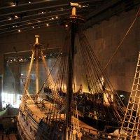 Ва́са — шведский боевой корабль, спущенный на воду летом 1628 года. :: vasya-starik Старик