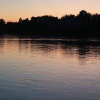 Вечер на реке :: Александр Ловкий