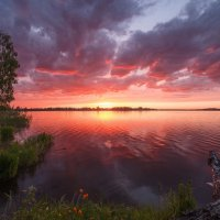 облака в закате :: Дамир Белоколенко