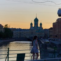 Вечерний Петербург... :: Александр Котелевский