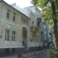 Административное  здание  в  Ивано - Франковске :: Андрей  Васильевич Коляскин