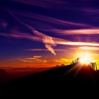 Закат в горах :: Zifa Dimitrieva