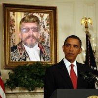 фотоколлаж надзор за Обамой :: Алексей Полковников
