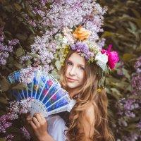 Загадки феи цветов (из серии) :: Анна Костецкая
