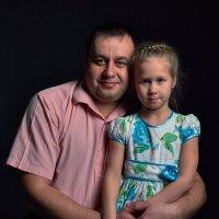 Папа и доча :: Яна Васильева