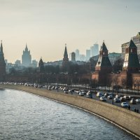 Вид на Кремль :: Александр Яблоков