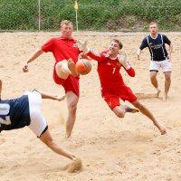 Пляжный футбол. :: Алексей