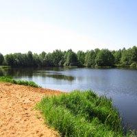 Карьерное озеро :: Андрей Снегерёв