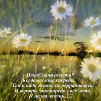 ЛЕТО - это целая ЖИЗНЬ..!!! :: Арина Дмитриева