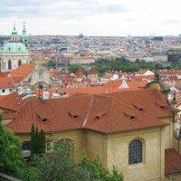Панорама города с Пражского града :: Елена Павлова (Смолова)