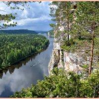 р.Вишера, север Пермского края :: Геннадий Ячменев