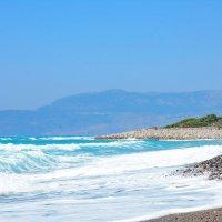 дикий пляж Родоса :: Наталия Григорьева