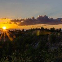 Закатное солнышко :: Олег Манаенков