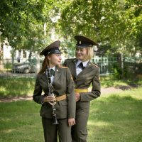 музыканты военного оркестра :: Виктор Ковчин