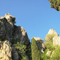 Вершины скал :: Ольга Иргит