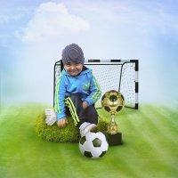 Чемпион дворового футбола :: Ирина Полунина