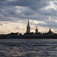 Закат на Неве :: Олег Пученков