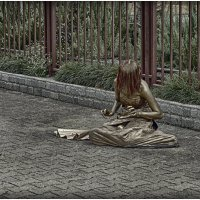 живая статуя :: Алексей Купер