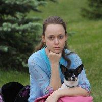 Ну, как даме и без собачки? :: Tatiana Markova